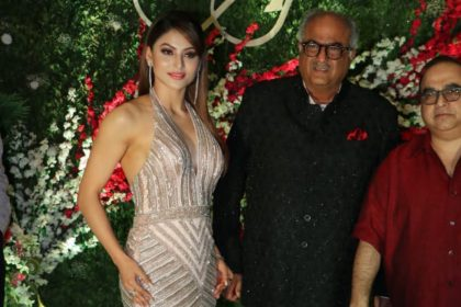 Urvashi Rautela And Boney Kapoor