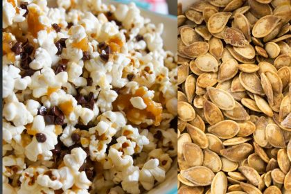 Popcorn And Roasted Seeds