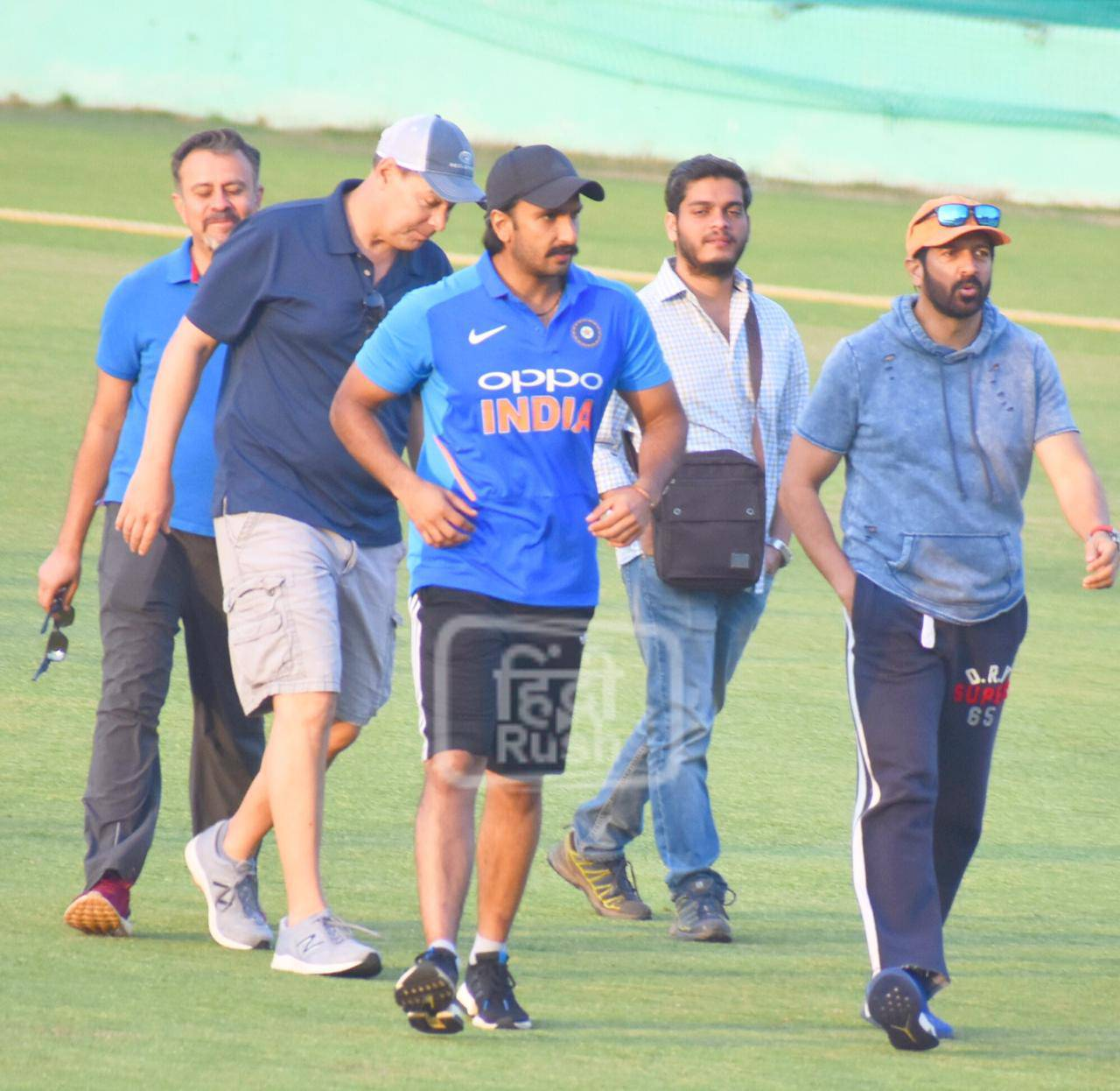 Ranveer Singh With Coach