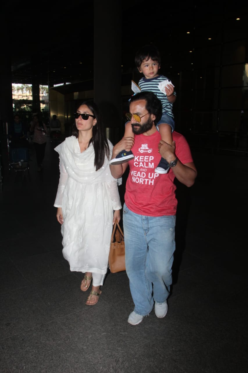Saif Ali Khan Taimur Ali Khan Kareena Kapoor Khan 1