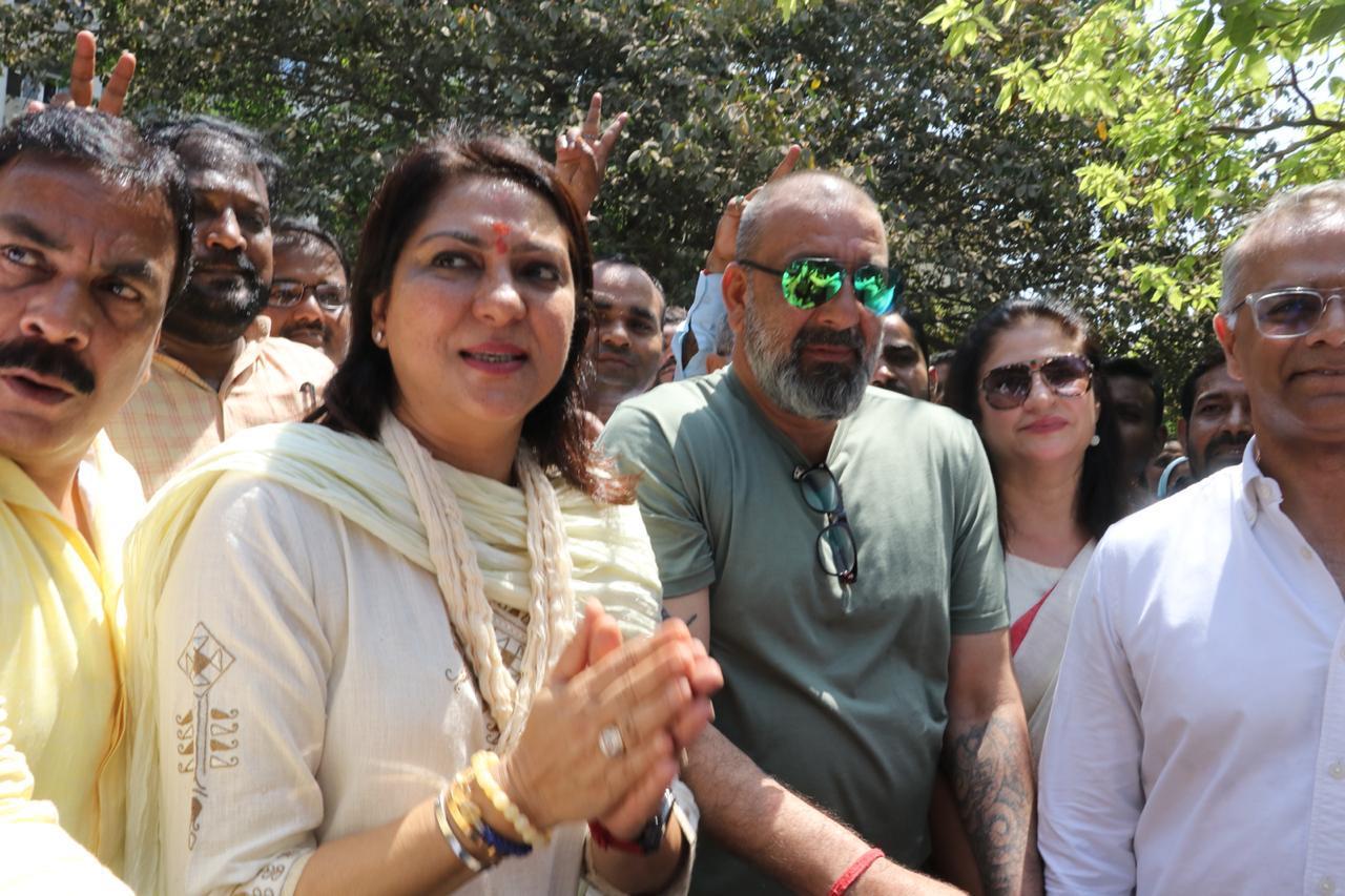 Sanjay Dutt Lok Sabha Election 2019 Priya Dutt 1