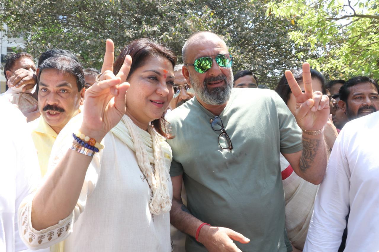 Sanjay Dutt Lok Sabha Election 2019 Priya Dutt