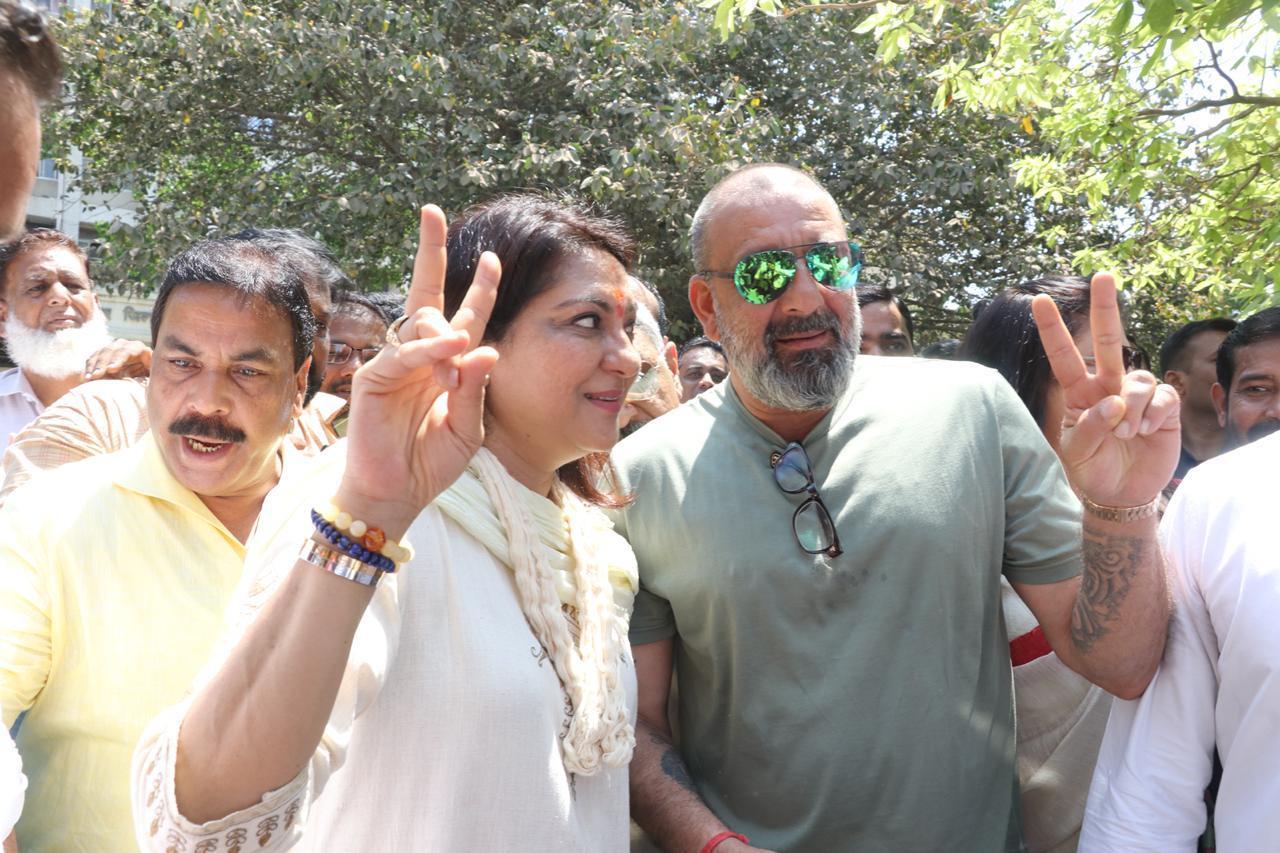 Sanjay Dutt Priya Dutt Lok Sabha Election 2019