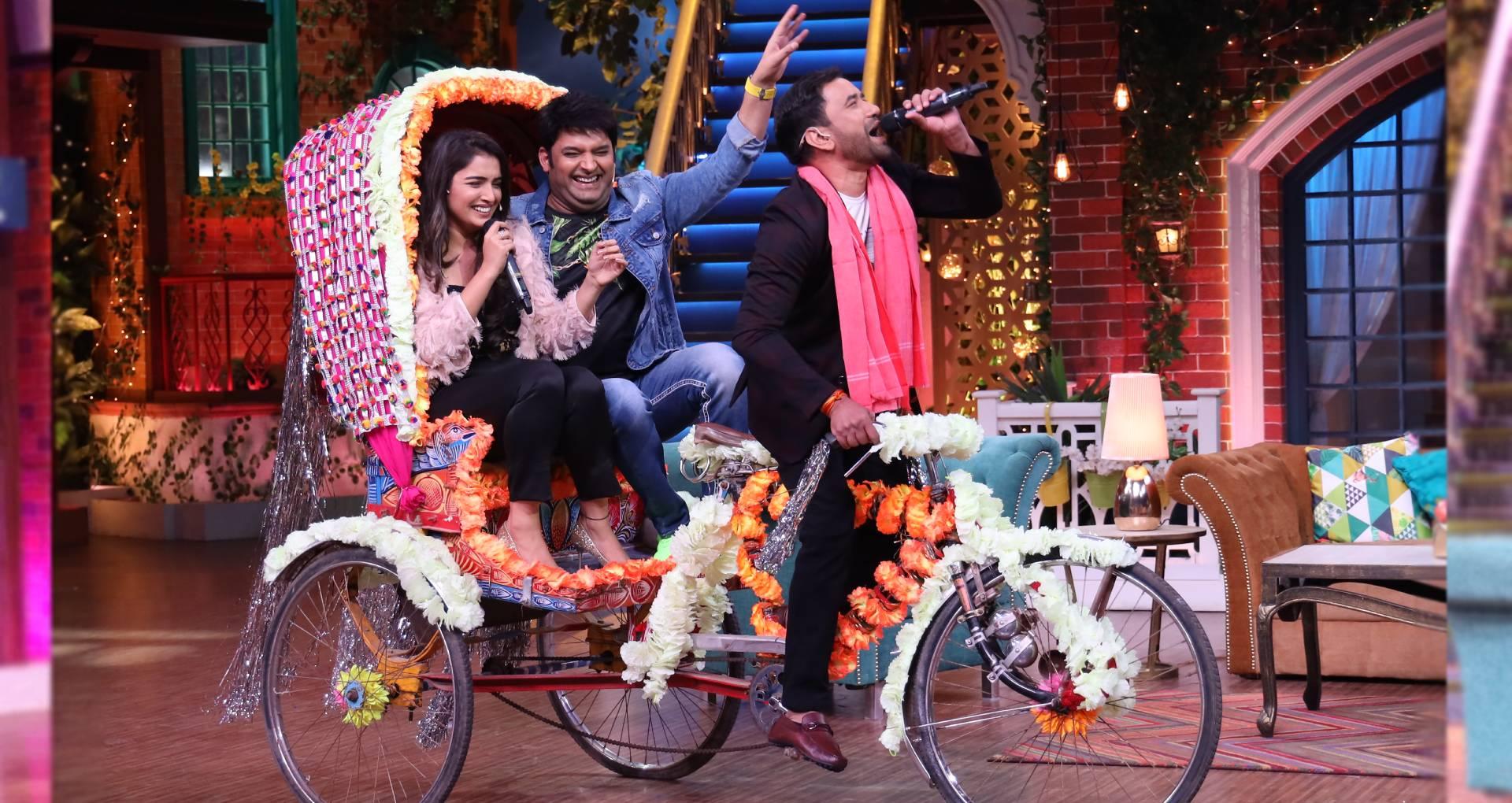 कपिल शर्मा शो में इस वीकेंड होगा भोजपुरिया धमाल, आम्रपाली दुबे-कपिल शर्मा बैठाकर रिक्शा चलाते दिखेंगे निरहुआ