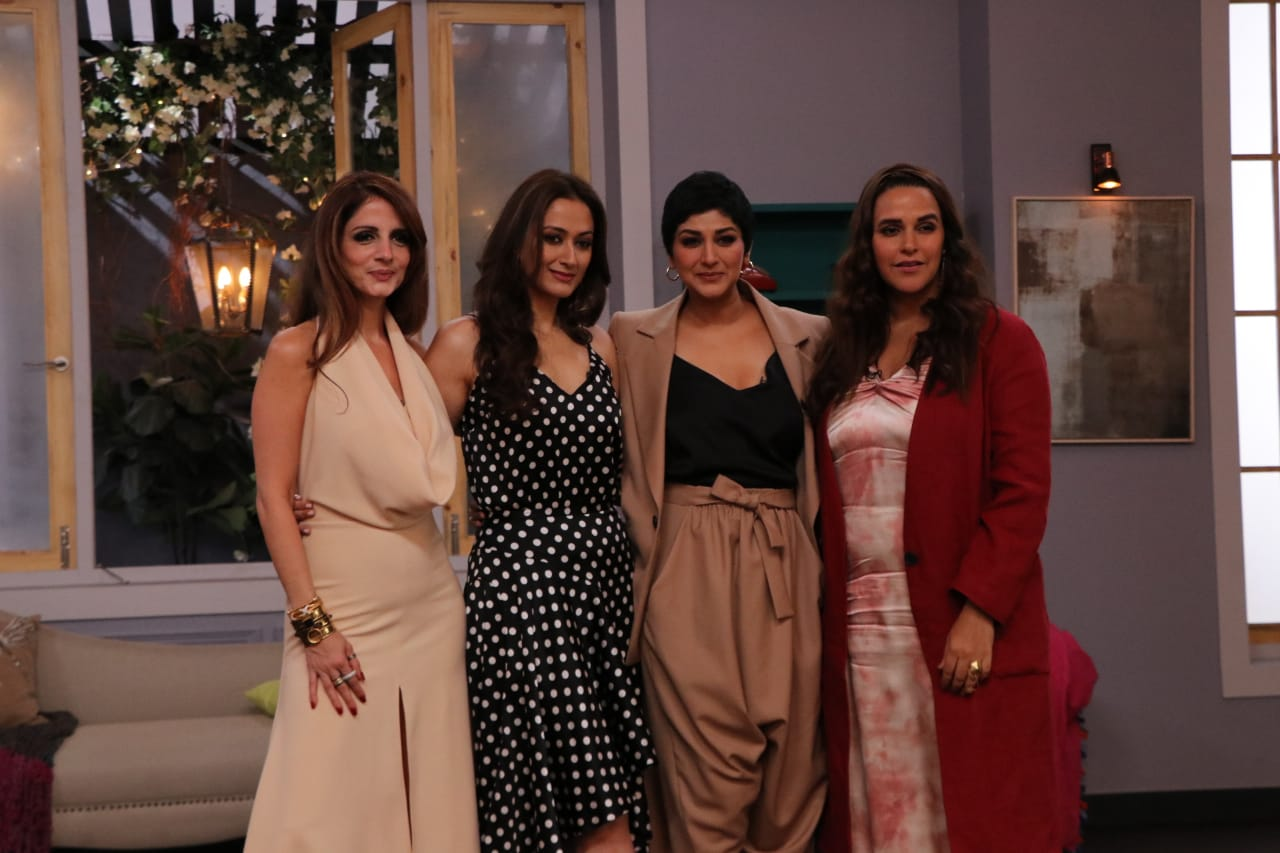 Vogue BFF Season 3 Sonali Bendre Sussane Khan Gaytri Joshi Neha Dhupia