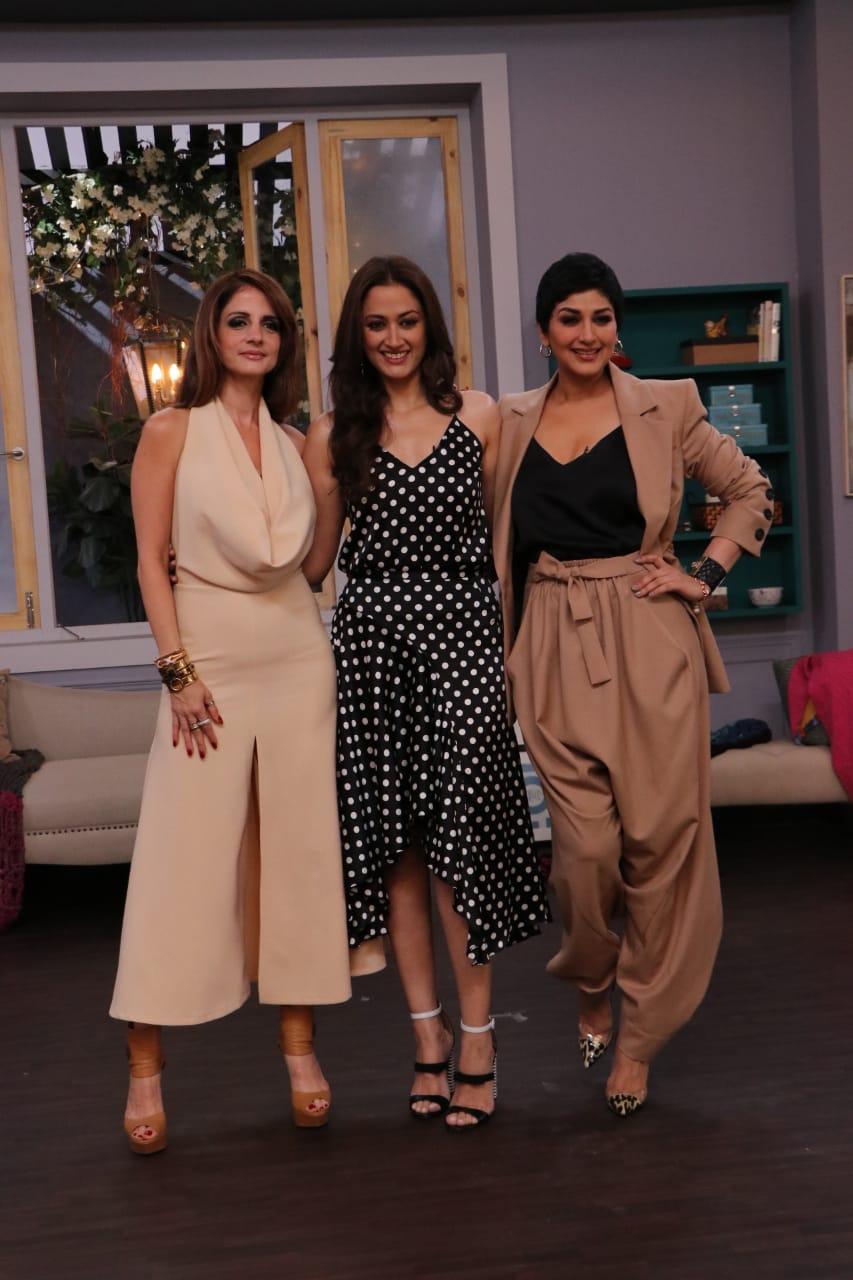 Vogue BFF Season 3 Sonali Bendre Sussane Khan Gaytri Joshi