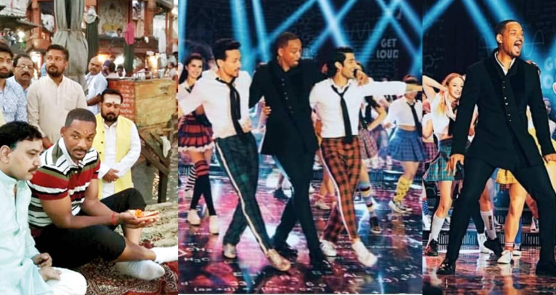 टाइगर श्रॉफ और अनन्या पांडे के साथ बॉलीवुड सॉन्ग पर थिरके हॉलीवुड एक्टर विल स्मिथ, इस काम के लिए की गंगा आरती