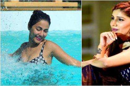 हिना खान और सपना चौधरी की तस्वीर (फोटो इंस्टाग्राम)