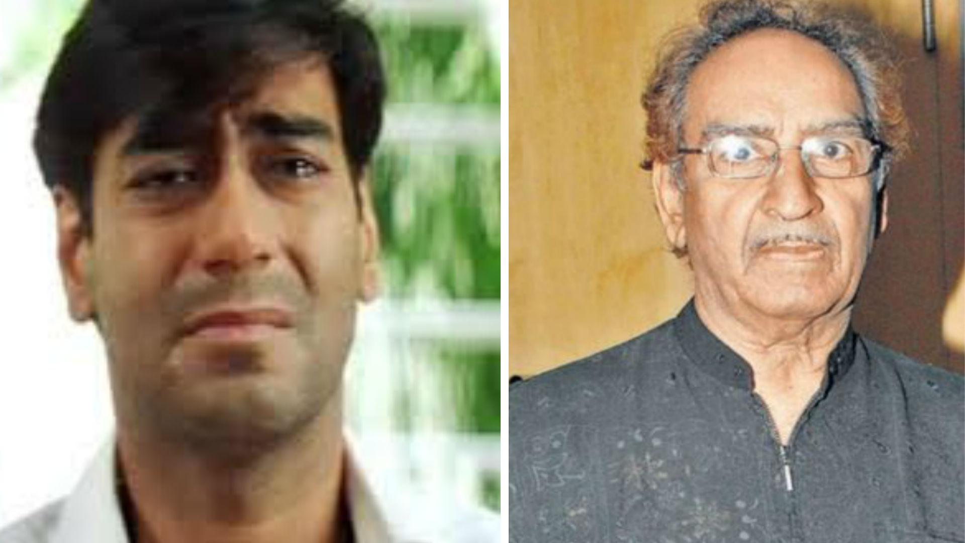 नहीं रहे अजय देवगन के पिता वीरू देवगन, एक्शन डायरेक्टर के निधन से बॉलीवुड में शोक की लहर