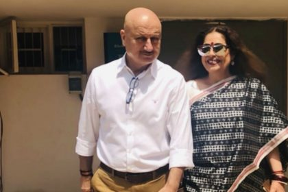 Anupam Kher viral video Chandigarh Lok Sabha Elections 2019 campaign for wife Kirron Kher