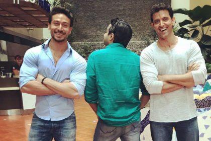 Hrithik VS Tiger movie Hrithik Roshan Tiger Shroff dance off for film