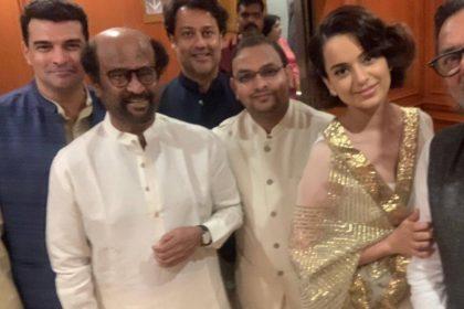 Karan Johar Take Selfie With Kangana Ranaut
