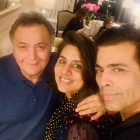 Karan Johar meet Rishi Kapoor