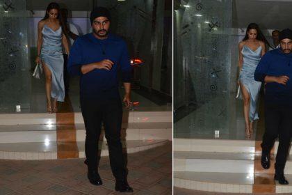 Malaika Arora Arjun Kapoor Photos: सैटरडे नाइट कुछ यूं सेलिब्रेट करते दिखे बॉलीवुड लवबर्ड्स, देखिए तस्वीरें