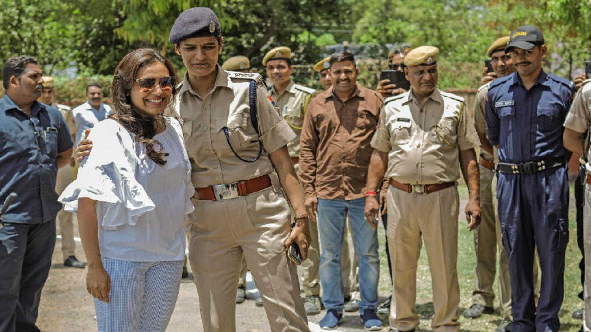 Mardaani 2 Movie: राजस्थान में जब असल 'मर्दानी' अमृता दूहन से हुई रील लाइफ 'मर्दानी' रानी मुखर्जी की मुलाकात