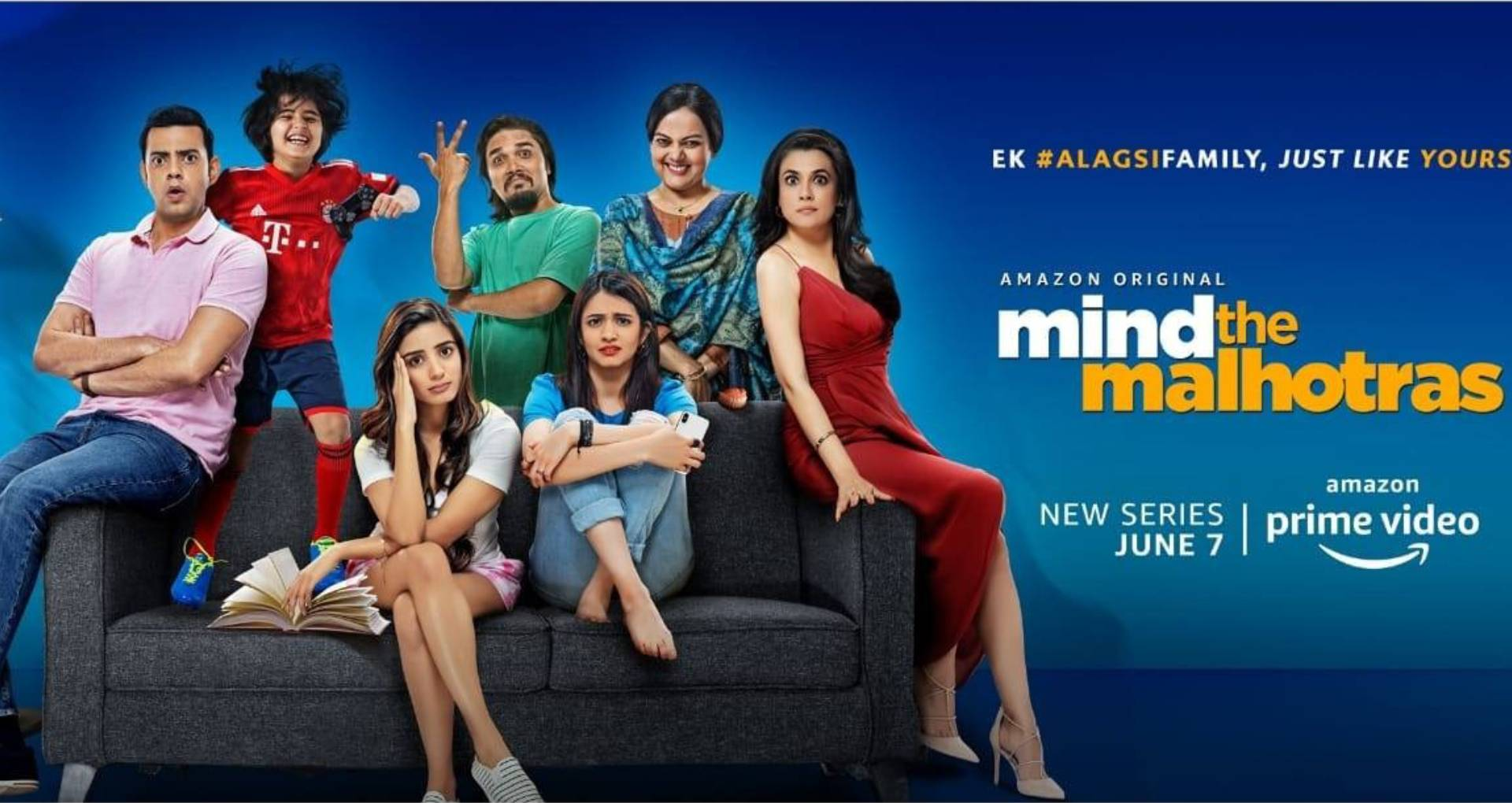 दीया मिर्जा की वेब सीरिज माइंड द मल्होत्रा का पहला पोस्टर आउट, इस दिन होगी कॉमेडी की शो की स्ट्रीमिंग