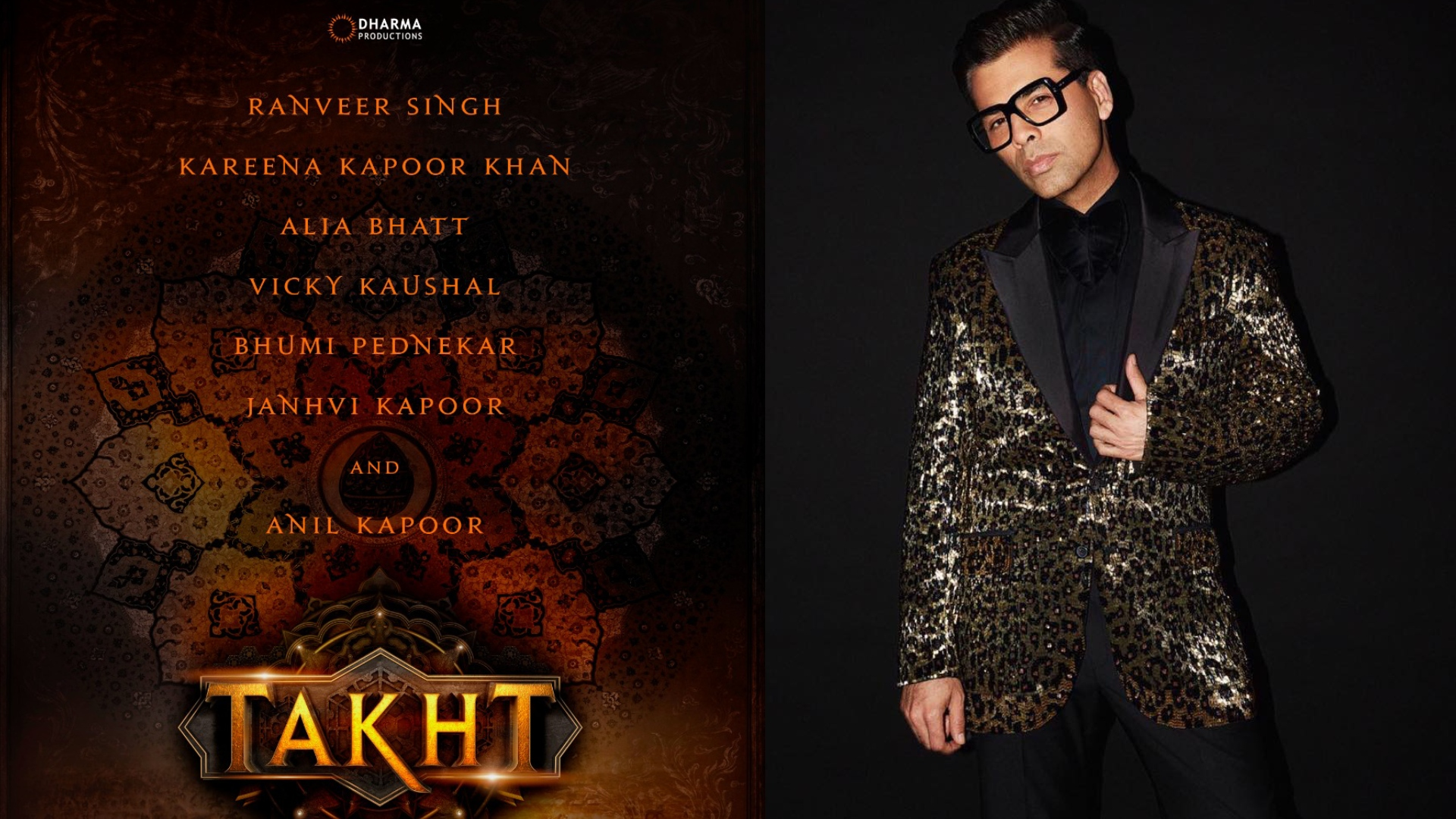 Takht Movie: करण जौहर ने बढ़ाई फिल्म तख्त की रिलीज डेट, अब इस दिन बड़े पर्दे पर देगी दस्तक