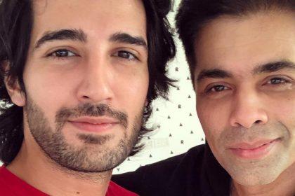 Aditya Seal With Karan Johar
