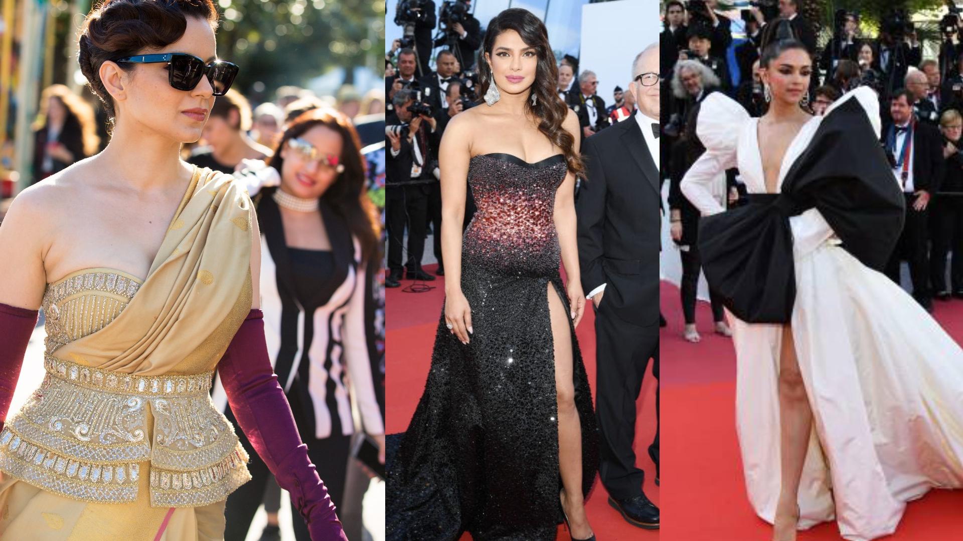 Cannes 2019: दीपिका पादुकोण, प्रियंका चोपड़ा और कंगना रनौत, जानिए कान्स में किस एक्ट्रेस ने जीता लोगों का दिल