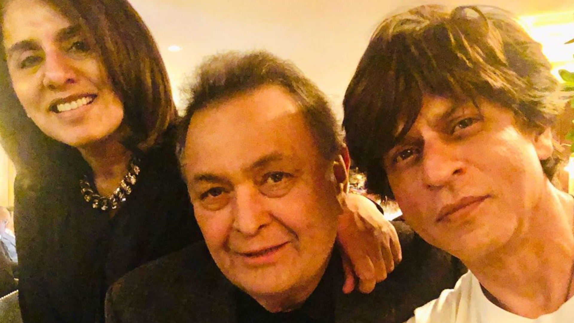 ऋषि कपूर से न्यूयॉर्क मिलने पहुंचे शाहरुख खान, 27 साल बाद दिखी दोनों सितारों की ऐसी जुगलबंदी