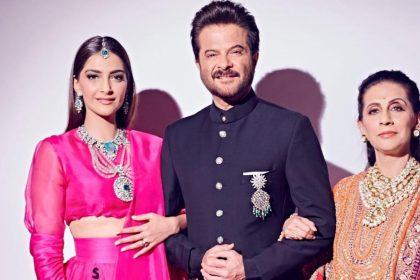 Sonam Kapoor, Anil Kapoor And Sunita Kapoor