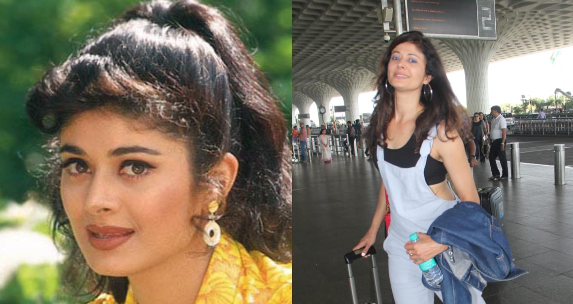 फिल्म 'विरासत' में अनिल कपूर के साथ नजर आ चुकी एक्ट्रेस पूजा बत्रा अब दिखती हैं ऐसी, एयरपोर्ट पर हुईं स्पॉट