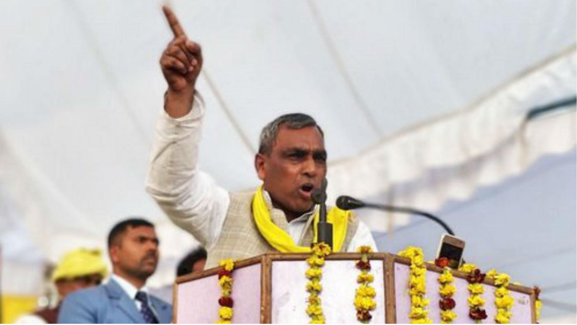 बीजेपी से नाराज हुए योगी के मंत्री ओम प्रकाश राजभर, 3 लोकसभा सीटों पर दिया सपा-बसपा और कांग्रेस को समर्थन