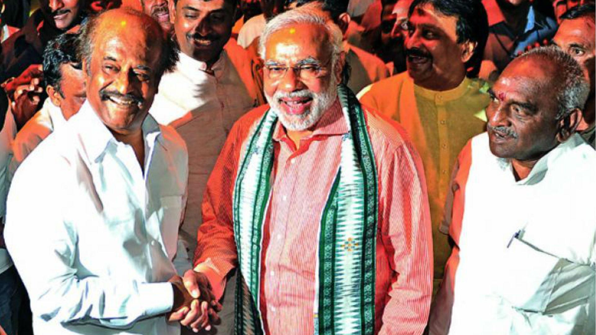 रजनीकांत ने की पीएम नरेंद्र मोदी की तारीफ, बताया 'करिश्माई नेता', राहुल गांधी के बारे में कही ये बात