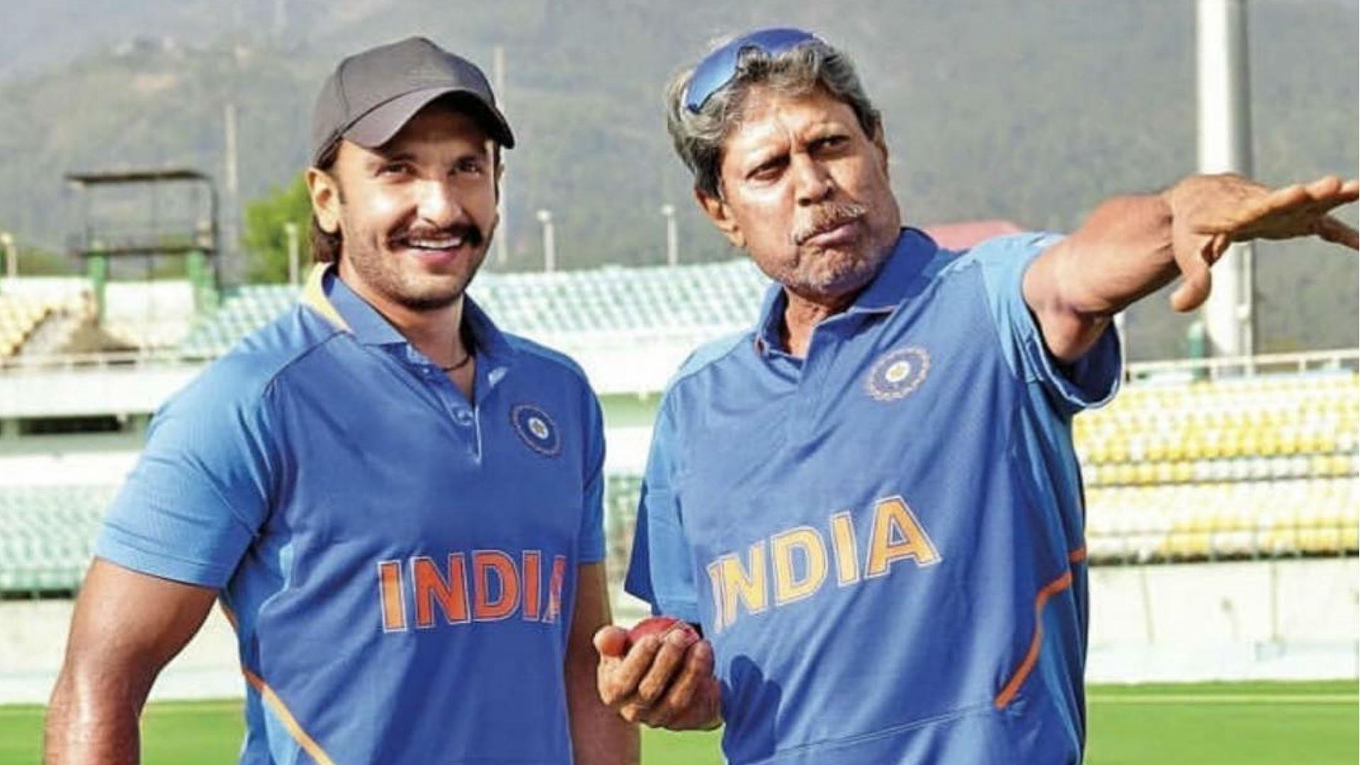 Ranveer Singh 83 The Film: 83 फिल्म का कपिल देव बनने के लिए पूर्व क्रिकेटर से मिलने दिल्ली पहुंचे रणवीर सिंह