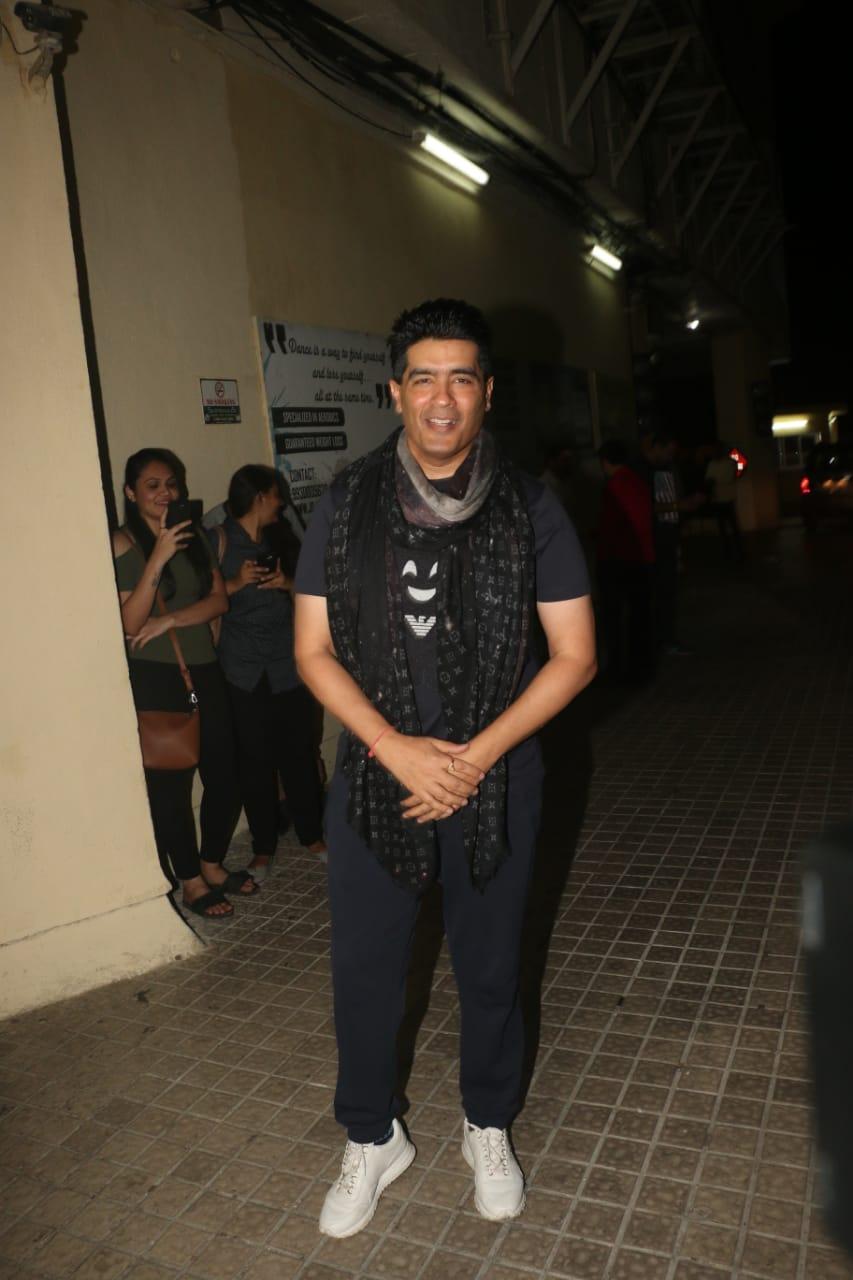 SOTY 2 Manish Malhotra