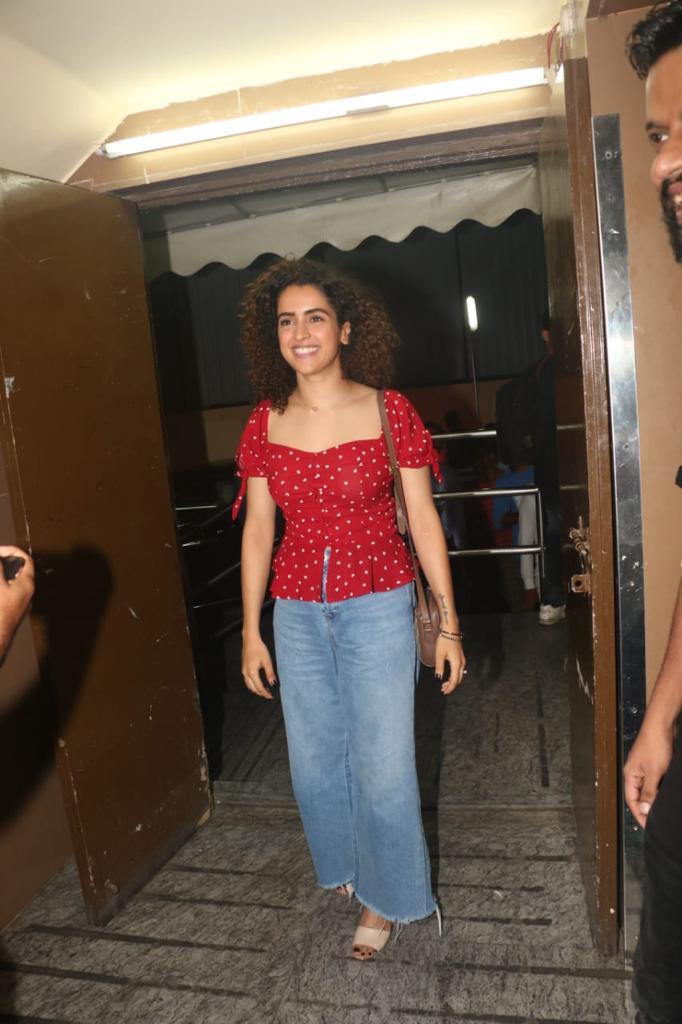 SOTY 2 Sanya Malhotra