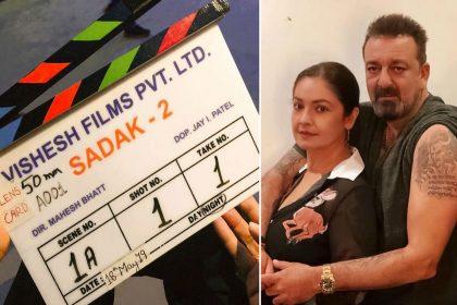 Sadak 2 film Alia Bhatt gets warm welcome Pooja Bhatt Sanjay Dutt Aditya Roy Kapur