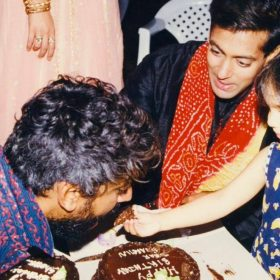 Sharmin Segal Birthday salman Khan