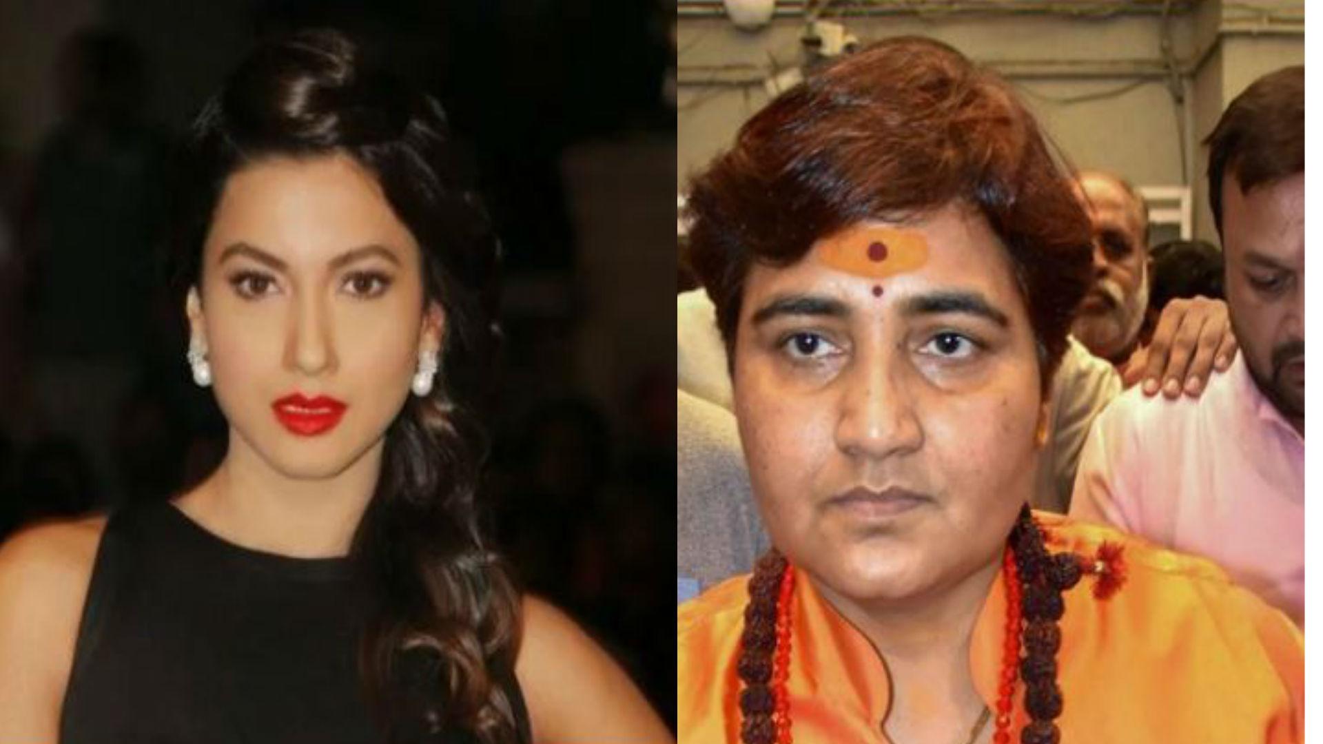गौहर खान ने साधा बीजेपी उम्मीदवार साध्वी प्रज्ञा पर निशाना, कहा- सॉरी कह देंगे, लेकिन चुनाव जरूर लड़ेंगे
