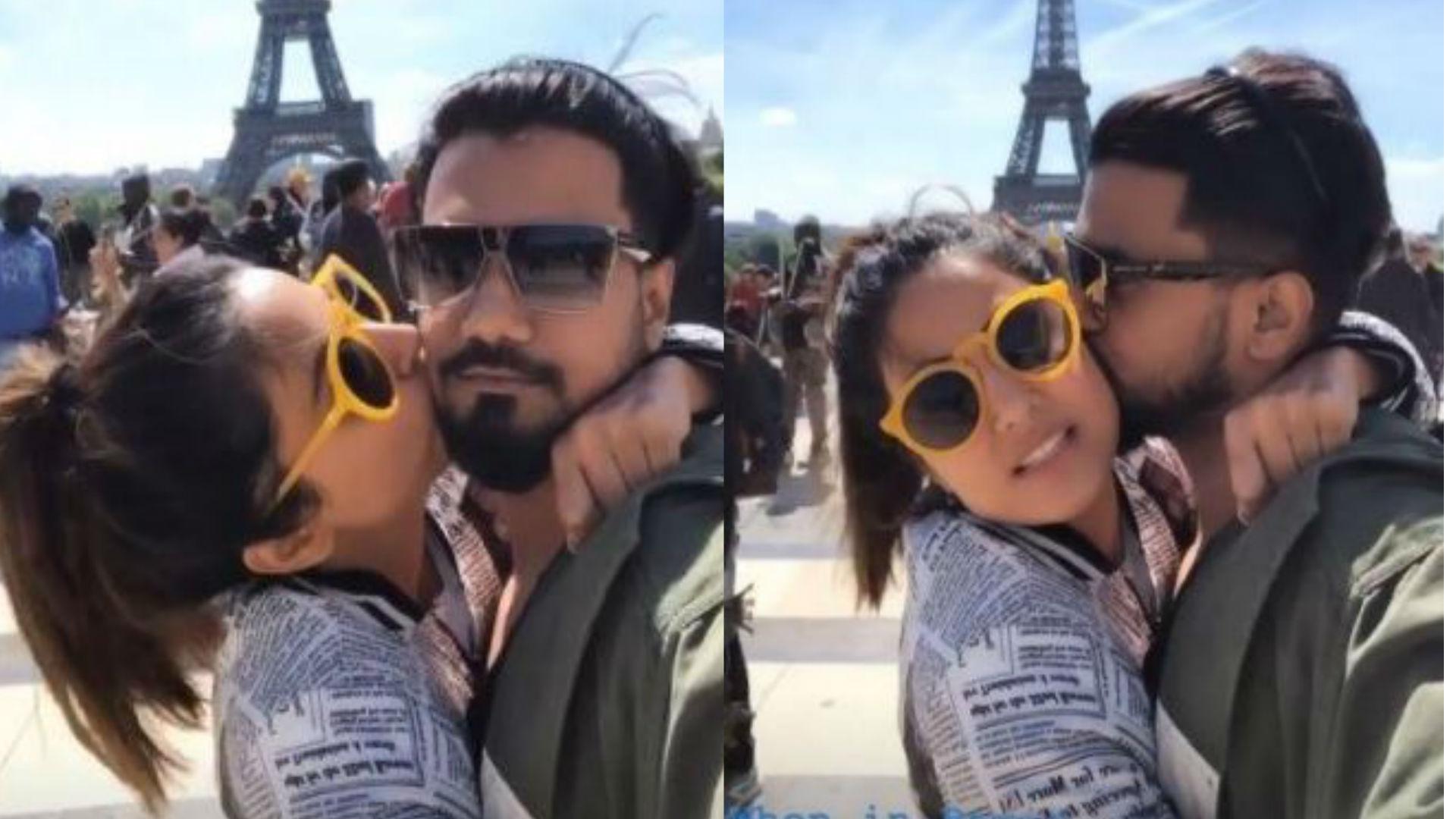 Cannes Film Festival 2019: हिना खान ने बिताए ब्वॉयफ्रेंड रॉकी जायसवाल संग रोमांटिक पल, किस करती आईं नजर