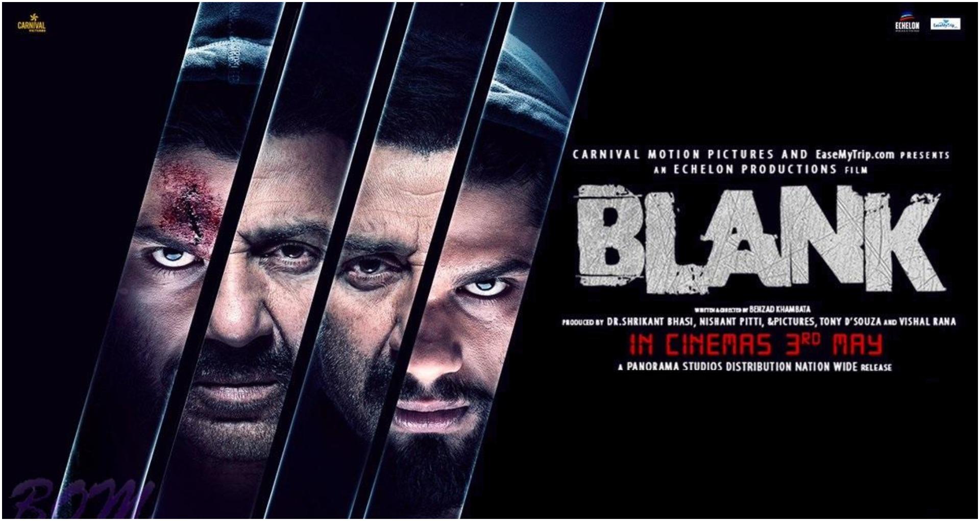ब्लैंक मूवी रिव्यू: सनी देओल के एक्शन ने मचाया गदर, कमजोर कहानी के बीच करण कपाड़िया की जबरदस्त एक्टिंग