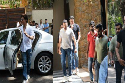 वीरू देवगन के निधन पर अजय देवगन के घर पहुंचे शाहरुख खान, सन्नी देओल सहित ये बड़े सितारे, देखिए तस्वीरें
