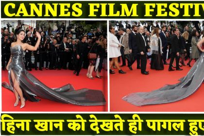 Cannes 2019: हिना खान का एक बार फिर लूटी महफिल, सिल्वर गाउन में रेड कारपेट पर उतर फिर फैंस की बढ़ाई धड़कने
