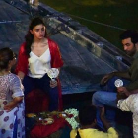Alia Bhatt Ranbir Kapoor Brahmastra Film Varanasi