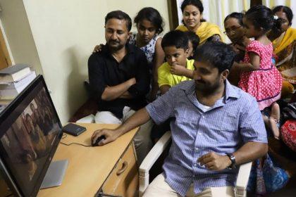 Anand Kumar Watching Super 30