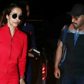 Arjun Kapoor Birthday actor spotted with Malaika Arora mumbai airport for vacation