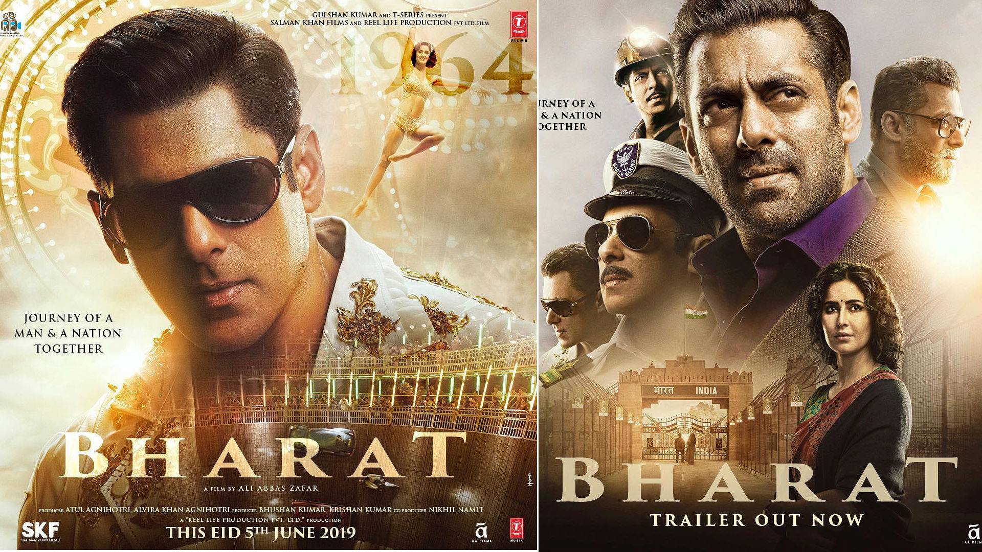 सलमान खान-कैटरीना कैफ की फिल्म 'भारत' की कमाई पर पड़ा असर, सोमवार को कमाए इतने करोड़ रुपये