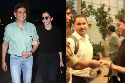 Deepika Padukone was asked her for ID at airport Prakash Padukone video viral