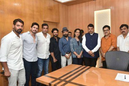 Fixer team Mahie Gill Karishma Sharma met CM Devendra Fadnavis orders probe in assault case