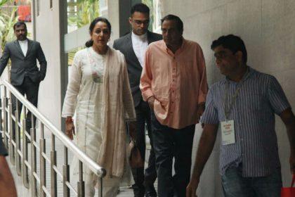 Hema Malini Dharmendra visit hospital Esha Deol new born baby girl named Miraya Bharat Takhtani