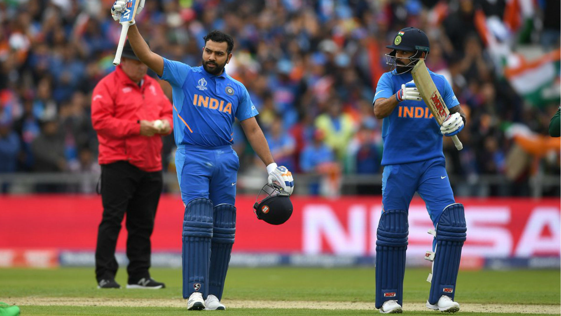 India Vs Pakistan: रोहित शर्मा का शतक, वर्ल्ड कप में पाकिस्तान के खिलाफ सेंचुरी लगाने वाले दूसरे भारतीय