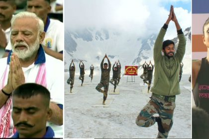 International Yoga Day 2019 See photos videos which viral on social media twitter yoga day 2019