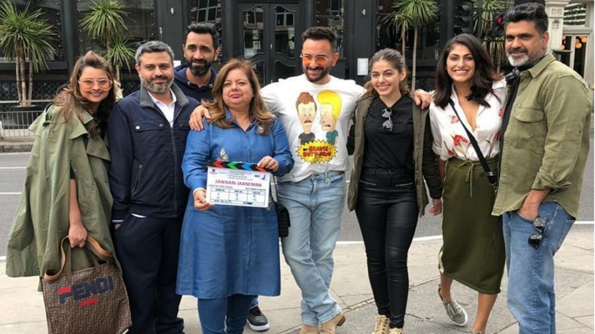 Jawaani Jaaneman Movie: सैफ अली खान-आलिया फर्नीचरवाला ने लंदन में शुरू की फिल्म की शूटिंग, सेट से आई तस्वीरें