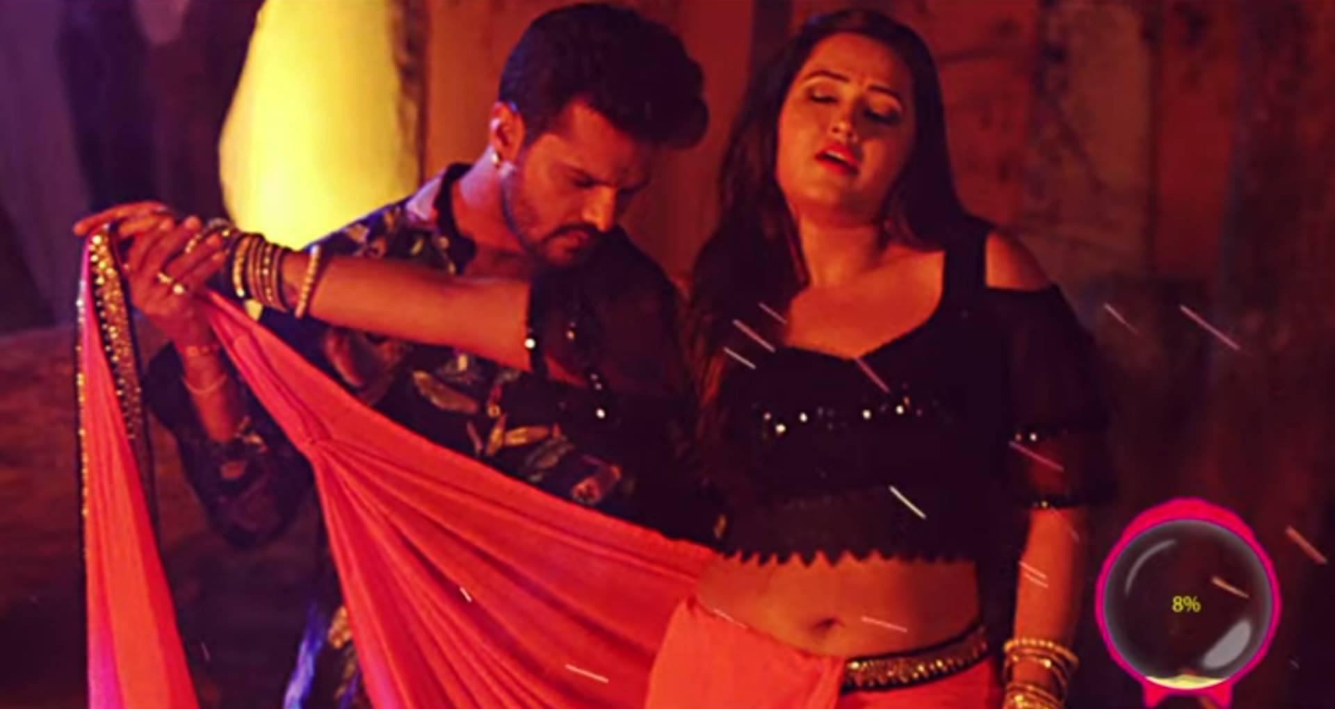 भोजपुरी फिल्म कुली नं. 1 सॉन्ग हुआ ट्रेंड, इस गाने में दिखा खेसारी लाल यादव और काजल राघवानी का बोल्ड डांस