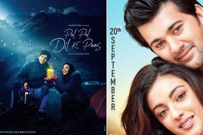 Karan Deol and Sahher Bambba Pal Pal Dil Ke Paas movie release date 20 September 2019
